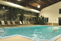 Enjoy a swim in our heated indoor pool, also available for private parties, at the South Deerfield Red Roof Inn.