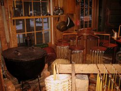 The Candle Making Museum offers a look at the old way of dipping taper candles