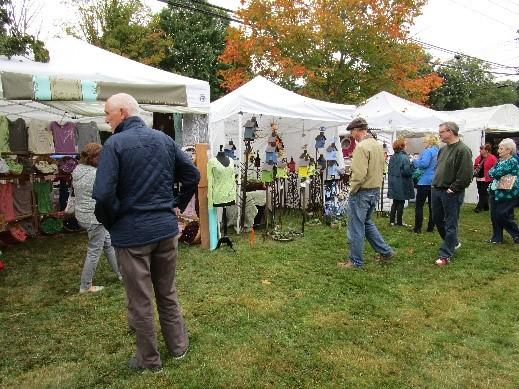 Old Deerfield's Craft Fairs.