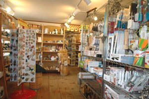 You'll find wonderful gift ideas in the Old Deerfield Country store in Deerfield, MA.