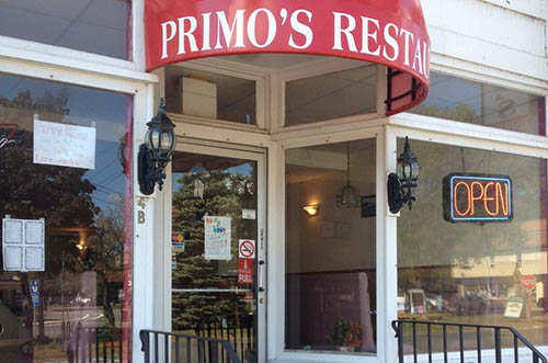 Primo's Restaurant, South Deerfield MA