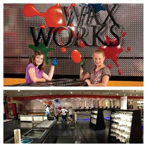 Wax Works at Yankee Candle, South Deerfield, MA